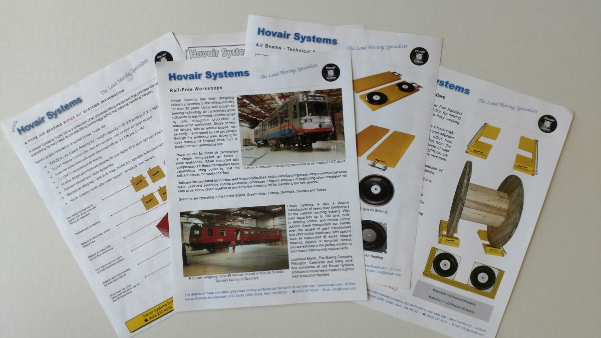 Air Bearings and Load Moving Systems